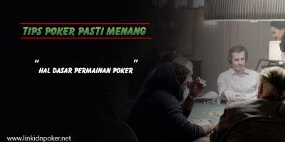 Hal-Dasar-Poker-Online